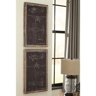 Signature Design by Ashley Odhran Wall Decor Set (Set of 2)