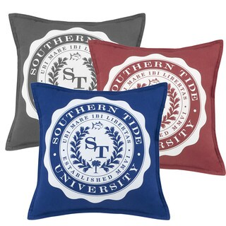 Southern Tide Skipjack Chino University Decorative Throw Pillow