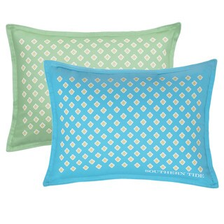 Southern Tide Skipjack Chino Breakfast Foulard Decorative Throw Pillow