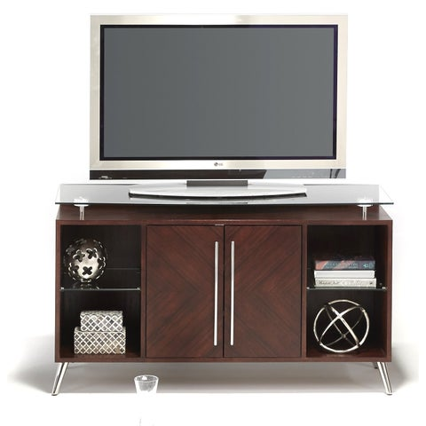 Studio City Varnished Brown Media Console