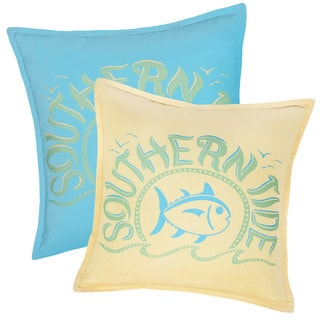 Southern Tide Chino Swimming Skipjack Decorative Throw Pillow