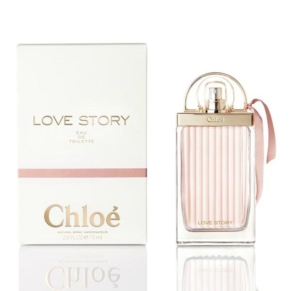8cb034709135 Shop Chloe Love Story Women's 2.5-ounce Eau de Toilette Spray - Free  Shipping Today - Overstock - 13433614