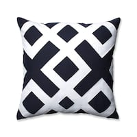 Sweet Jojo Designs White And Navy Hotel Decorative Accent