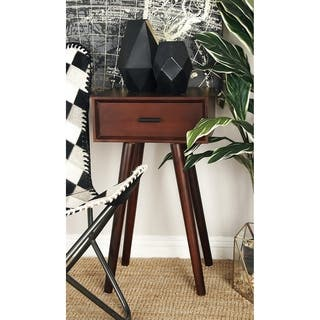 Studio 350 Wood Accent Table 16 Inches Wide 28 High