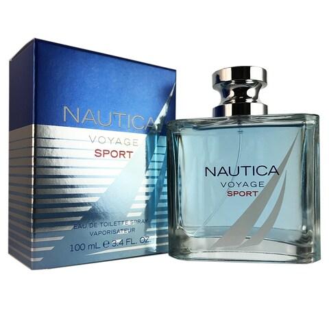 Nautica Voyage Sport Men's 3.4-ounce Eau de Toilette Spray