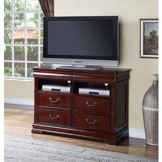 Cherry Acme Furniture Gwyneth TV Console