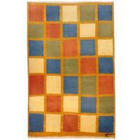 Herat Oriental Persian Hand-knotted Gabbeh Wool Rug - 2'8 x 4'2