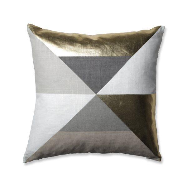 Pillow Perfect Avalon Gold Throw Pillow