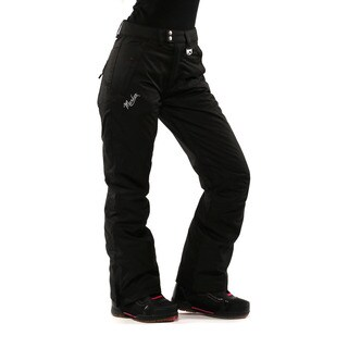 Marker Women's Black Classic Snow Pants