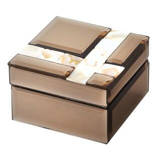 "Elegance Mirror Jewelry Box: 4 x 4"""