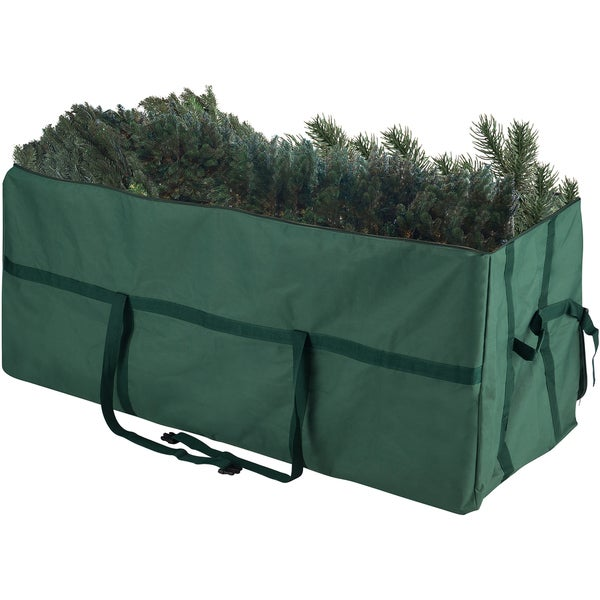 Elf Stor Heavy Duty Canvas Large Christmas Tree Storage Bag For 9 Foot Tree