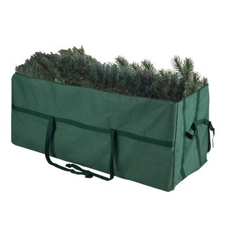 Elf Stor Heavy-duty Canvas Large Christmas Tree Storage Bag for 9' Tree