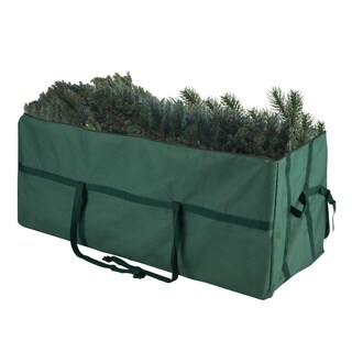 Elf Stor Heavy-duty Canvas Large Christmas Tree Storage Bag for 9-foot Tree