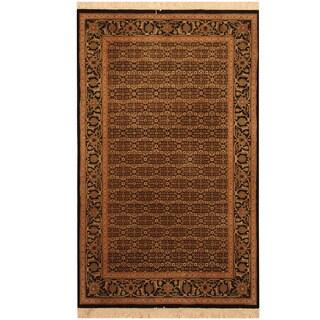 Herat Oriental Indo Hand-knotted Tabriz Wool Rug (3' x 5')