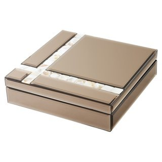 Elegance Mirror Jewelry Box: 9.5 x 9.5""