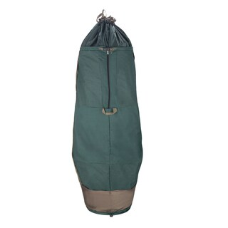 Elf Stor Green Polyester Holiday Christmas Tree Upright Storage Bag