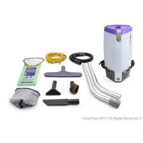 Proteam Super Coach Pro 10 QT Backpack Vacuum Cleaner
