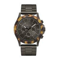 Caravelle New York Men's 45A125 Analog Display Quartz Grey Watch