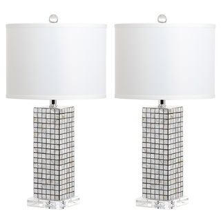 Safavieh Lighting Skagway 25.5-Inch Table Lamp (Set of 2)