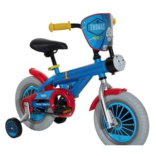 Dynacraft Boys' Thomas Blue Steel 12-inch Wheel Bike