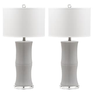 Safavieh Lighting Bamboo 29-Inch Table Lamp (Set of 2)