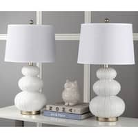 Safavieh Lighting 28.5-inch Rita Off-White Table Lamp (Set of 2)