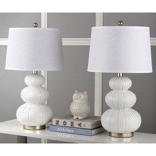 Safavieh Lighting 28.5-inch Rita Off-White Table Lamp (Set of 2)