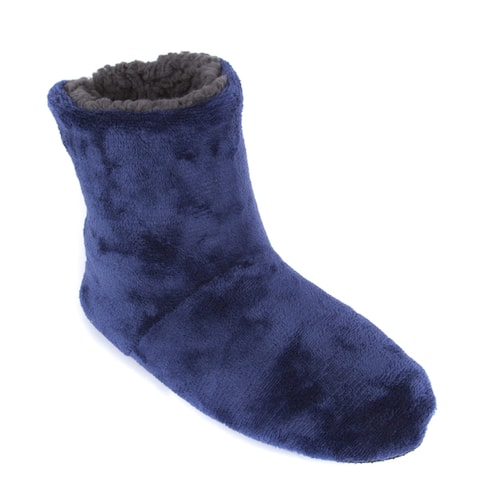 Leisureland Mens Fleece Lined Slippers