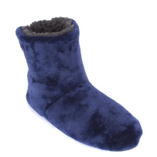 Leisureland Men's Fleece-lined Slippers