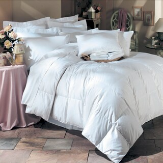 White Down Comforter and Feather Pillow 6-Piece Set (3 options available)