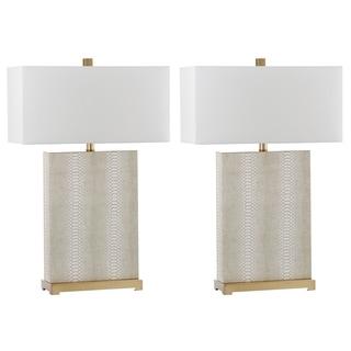 Safavieh Lighting Joyce 27.75-Inch Table Lamp (Set of 2)