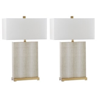 Safavieh Lighting Joyce 27.75-Inch Table Lamp (Set of 2)
