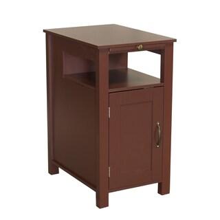 Irwin Brown Wood Side Table