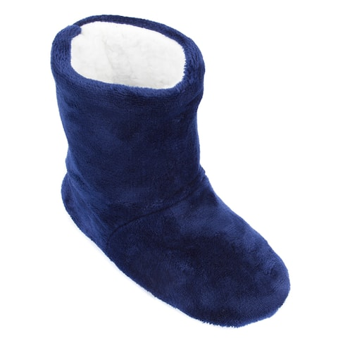 Leisureland Womens Fleece Lined Slippers