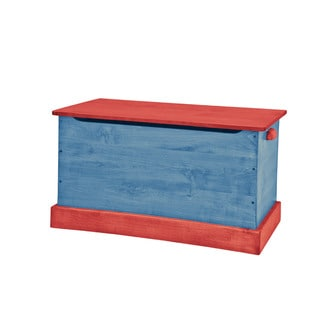 34 Inch Children's REAL WOOD Toy Box