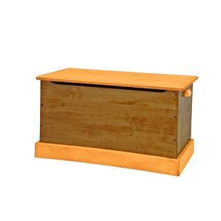 30 Inch Children's REAL WOOD Toy Box