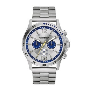 Caravelle by Bulova 43A130 New York Men's Chronograph Watch