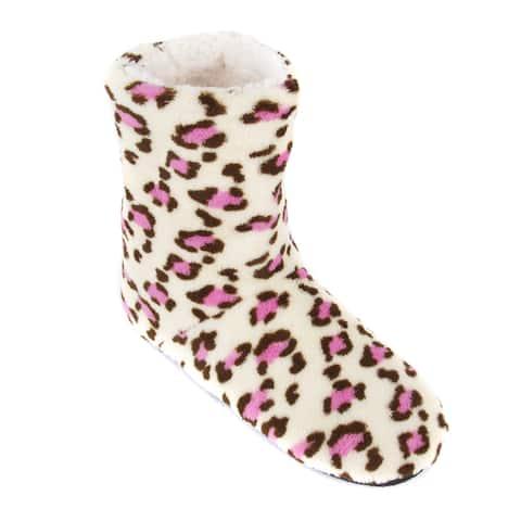 Leisureland Women's Leopard Slippers