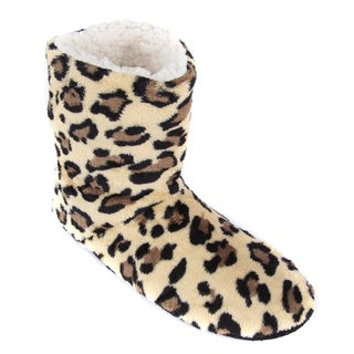 Leisureland Women's Leopard Slippers
