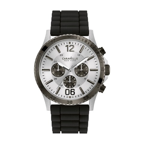 Caravelle New York Men's Chronograph Watch