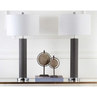 Safavieh Lighting Ollie 31.5-Inch Faux Snakeskin Table Lamp (Set of 2)