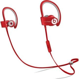 Beats by Dr. Dre Powerbeats Refurbished 2 Red Wireless Ear Hook Headphones