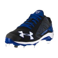 Under Armour Men's UA Yard Black Fabric Baseball Cleats