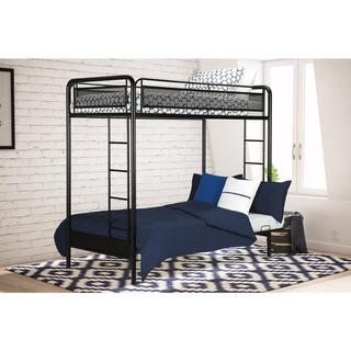 DHP Rockstar Twin/ Futon Bunk Bed