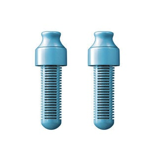Bobble 2-Pack Replaceable Water Filter, Sky Blue