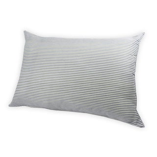 Oxford Stripe Down Alternative Jumbo Bed Pillow