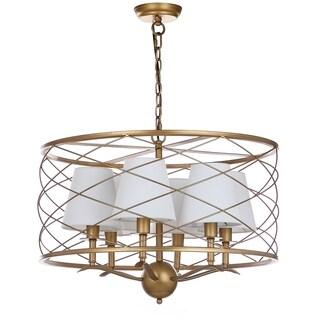 Safavieh Lighting Thea 25.25-Inch Adjustable Pendant Lamp