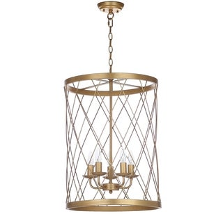 Safavieh Lighting Alair 18-Inch Adjustable Pendant Lamp