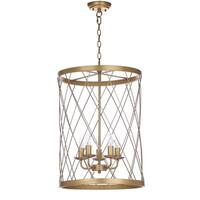 Safavieh Lighting 18-inch Alair Gold Adjustable Pendant Lamp