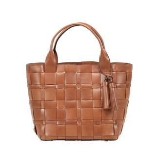 Michael Kors Vivian Medium Walnut Leather Tote Bag
